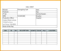 Daily Call Sheet Template Diva Sales Production Schedule Brayzen Co