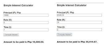 Loan Interest Calculator Best Simple Interest Calculator DC Design