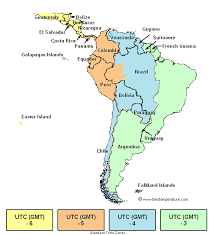 South America Time Zone South America Current Time