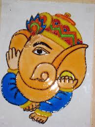 Diwali Glass Painting Designs Ganesha Glass Painting Designs Glass Painting Patterns