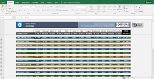Sample Of Family Budget Excel Spreadsheet Budget Dashboard Sample Of Download For College