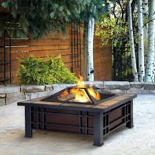 outdoor portable fireplace portable outdoor fireplace bunnings