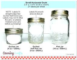 Ball Jar Value Chart Mason Jar Oz Sizes Theplumbingconm Com