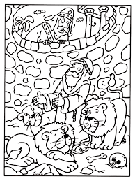 Kleurplaat Daniel Bijbelse Figuren Kleurplatennl Bijbelse