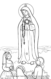 Small Picture Snowflake Clockwork Our Lady of Fatima coloring page and