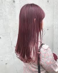 秋のフルーツみたいにあまい色合いinstagramで流行りのヘアカラー