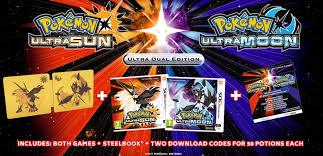 special editions of pokémon ultra sun