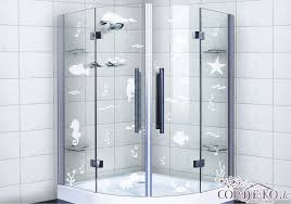 set glass decal fish sea animals glass decoration milk glass shower bath window foil stickers