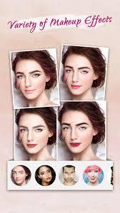 you makeup free beauty camera photo editor screenshot on ios