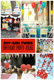 Boy-Girl Twins Birthday Party Ideas by Double the Fun Parties