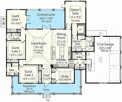 3 Bedroom Open Floor House Plans New Decorating Design
