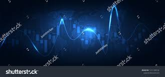 Business Candle Stick Graph Chart Of Stock Market Investment