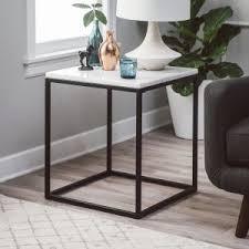 marble top end tables. Belham Living Sorenson Square End Table With Marble Top Tables