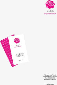 Vector Illustration Stationery Template Stationery Templates