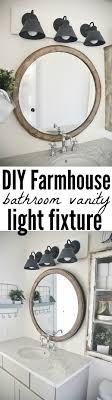 Best 25 Round Bathroom Mirror Ideas On Pinterest Circle Light Vanity Lights For Round Mirror