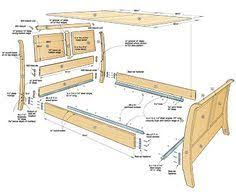 Platform Beds and Woodworking Plans 20 free bed plans for many styles  including Murphy beds See