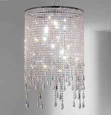 white lamp shades with crystals brilliant diy crystal table best inspiration inside 7