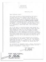 Corrected Letter Lot Detail Joseph Heller Typed Letter Signed I Am Not