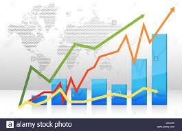 Tip Stock Chart Blue Presentation Chart Tip Peak Horizontal Monitoring