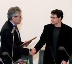 Вручение диплома иностранного члена РАН профессору Е А Нудлеру