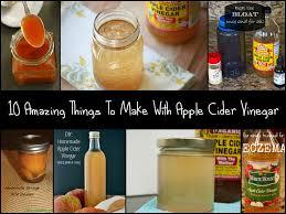 10 uses of apple cider vinegar