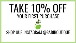 Size Chart Sabi Boutique