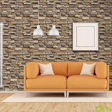 Vintage 3D Brick Stone Rustic Effect ...