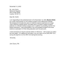 Basic Cover Letter For Resume New Graduate Nurse Cover Letter Creative Resume Ideas 84
