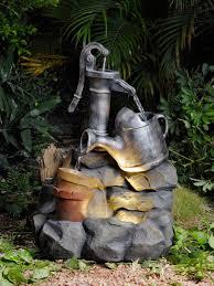 floor outdoor fountains. Heritage Outdoor/Indoor Well Fountain With Illumination Floor Outdoor Fountains