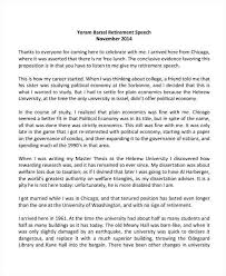 Presidential Acceptance Speech Example Template Welcome Pdf ...