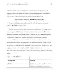 Cost Proposal Templates business proposal Example 15