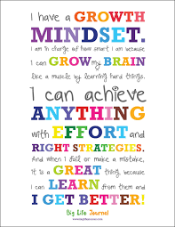 Collection Of Growth Mindset Quotes For Kids 38 Images In Collection