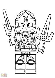 Ausmalbilder Lego Ninjago Movie 2021