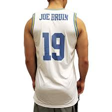 Ucla Custom With Jersey And Name Number Basketball Small