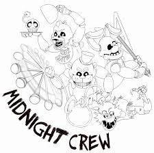 Coloring Pages Five Nights At Freddy S 3 The Most Confidential