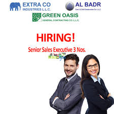 senior s executive required s and marketing sharjah senior s executive required