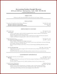 16 Sample Resume Objectives For Students Sendletters Info