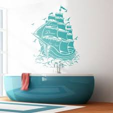pirate ship wall decal let your dream