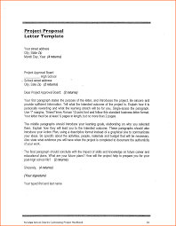 A Proposal Letter 24 Make A Proposal For A Project Project Proposal 2
