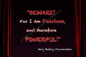 Famous Frankenstein Quotes. QuotesGram via Relatably.com