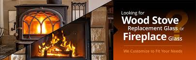 custom fit replacement wood stove glass