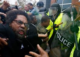 cornel west essays activist and scholar cornel west center joins protesters against police violence in new york city