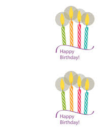 Free Downloadable Birthday Cards 40 Free Birthday Card Templates Template Lab