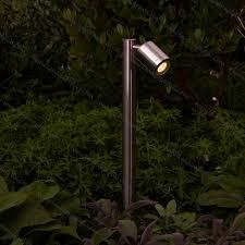 Landscape Lighting Videos Hunza Pure Led Single Pole Lights S Steel Led Garden