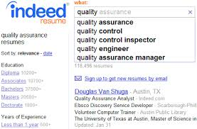 ... Job Resume, Indeed Resume Search Quality View Resumes Indeed Resume  Search Cost: Free Indeed ...