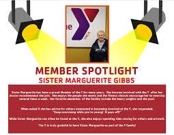 Staff Spotlight-Sister Marguerite Gibbs - Monroe Family YMCA