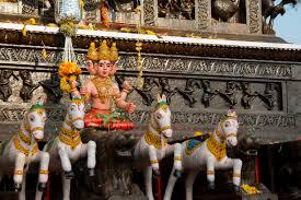 บทสวดบูชาพระตรีมูรติ พระผู้เป็นเจ้าสูงสุดตามความเชื่อฮินดู  ผู้ประทานพรได้ทุกสิ่ง