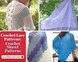 Shawl Patterns Mesmerizing 48 Lacy Crochet Shawls AllFreeCrochet