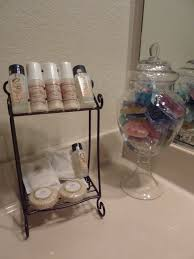 Guest Bathroom Toiletries