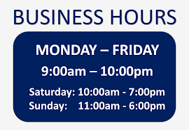 Hours Of Operation Template Free Free Business Hours Sign Templates At Allbusinesstemplates Com